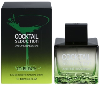 Antonio Banderas Cocktail Seduction In Black toaletna voda za moške 100 ml