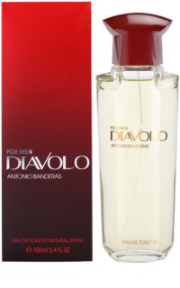 Antonio Banderas Diavolo Eau de Toilette for Men 100 ml