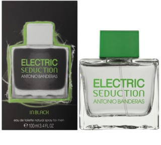Antonio Banderas Electric Seduction In Black eau de toilette pour homme 100 ml