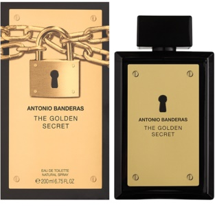 Antonio Banderas The Golden Secret Eau de Toilette for Men 200 ml