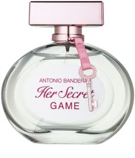 Antonio Banderas Her Secret Game Eau de Toilette voor Vrouwen  80 ml