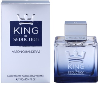 Antonio Banderas King of Seduction Eau de Toilette para homens 100 ml