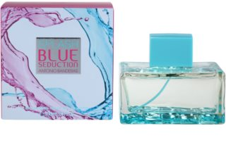 Antonio Banderas Splash Blue Seduction eau de toilette pour femme 100 ml
