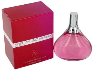 Antonio Banderas Spirit for Woman Eau de Toilette para mulheres 100 ml