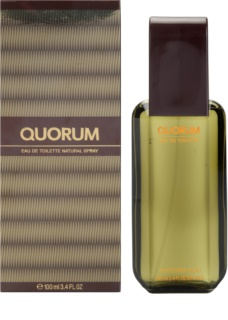 Antonio Puig Quorum Eau de Toilette Herren 100 ml