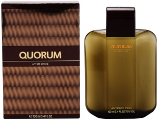 Antonio Puig Quorum after shave para homens 100 ml