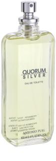 Antonio Puig Quorum Silver toaletná voda tester pre mužov 100 ml