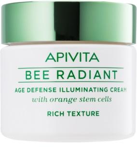 Apivita Bee Radiant krem rozjaśniający przeciw oznakom starzenia