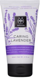 Apivita Caring Lavender krem nawilżająco-kojący