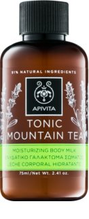 Apivita Body Tonic Bergamot & Green Tea tonizáló tej testre