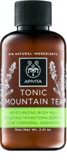 Apivita Body Tonic Bergamot & Green Tea lait tonifiant corps