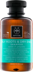 Apivita Holistic Hair Care Nettle & Propolis Shampoo for Oily Scalp and Dry Ends