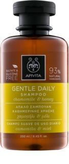 Apivita Holistic Hair Care Chamomile & Honey шампоан за ежедневно миене на коса