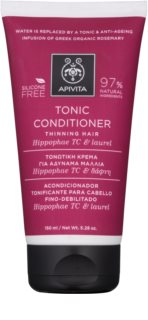 Apivita Holistic Hair Care Hippophae TC & Laurel Tonic Conditioner  voor Dunner wordend Haar
