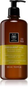 Apivita Chamomile & Honey sanftes Shampoo für jeden Tag