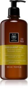 Apivita Chamomile & Honey jemný šampon ke každodennímu použití