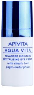 Apivita Aqua Vita creme revitalizador e hidratante intensivo para o contorno dos olhos