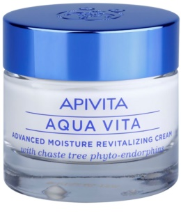 Apivita Aqua Vita Intensiv fuktgivande och återvitaliserande kräm för normal och torr hud