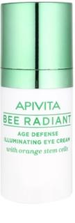 Apivita Bee Radiant crema iluminadora y rejuvenecedora para contorno de ojos
