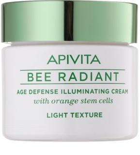 Apivita Bee Radiant cremă cu efect de întinerire pentru o piele mai luminoasa