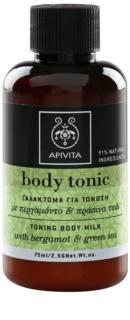 Apivita Body Tonic Bergamot & Green Tea Toning Body Milk