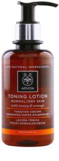 Apivita Cleansing Honey & Orange тонік для нормальної та сухої шкіри