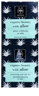 Apivita Express Beauty Aloe зволожуюча маска