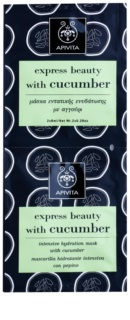 Apivita Express Beauty Cucumber masque visage hydratant intense