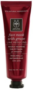 Apivita Express Beauty Grape masque anti-rides et raffermissant visage