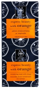 Apivita Express Beauty Orange revitalizační pleťová maska