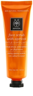 Apivita Express Beauty Apricot exfoliante facial suave