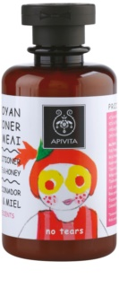 Apivita Kids Pomegranate & Honey shampoo e balsamo 2 in 1 per bambini