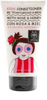 Apivita Kids Rose & Honey balzam za lase za otroke