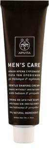 Apivita Men's Care Balsam & Propolis creme suave para barbear