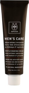 Apivita Men's Care Balsam & Propolis лек крем бръснене