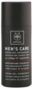 Apivita Men's Care Cedar & Propolis gelový krém s hydratačním účinkem