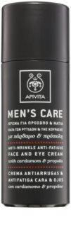 Apivita Men's Care Cardamom & Propolis protivráskový krém na obličej a oči
