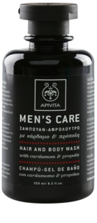 Apivita Men's Care Cardamom & Propolis