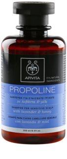 Apivita Holistic Hair Care Lavender & Honey šampon pro citlivou pokožku hlavy