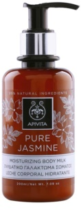 Apivita Pure Jasmine хидратиращо мляко за тяло
