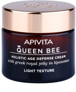 Apivita Queen Bee lehký krém proti stárnutí pleti