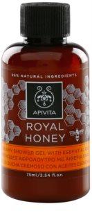 Apivita Royal Honey gel de ducha en crema con aceites esenciales