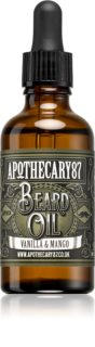 Apothecary 87 Vanilla & Mango huile traitante barbe