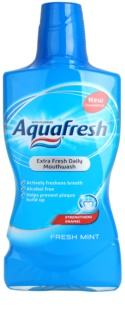 Aquafresh Fresh Mint ústní voda pro svěží dech