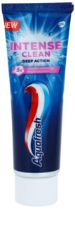 Aquafresh Intense Clean Deep Action Zahnpasta mit aktiven mikrokristallen