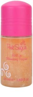 Aquolina Pink Sugar deodorant roll-on pre ženy 50 ml  s trblietkami