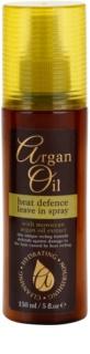 Argan Oil Hydrating Nourishing Cleansing spray para finalização térmica de cabelo