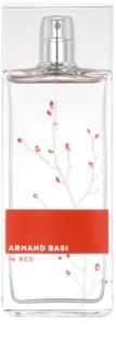 Armand Basi In Red Eau de Toilette for Women 100 ml
