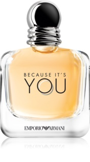 Armani Emporio Because It's You Eau de Parfum para mulheres 100 ml