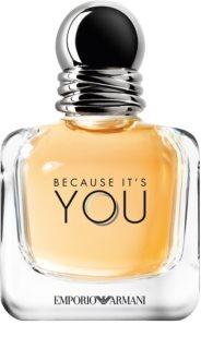 Armani Emporio Because It's You Eau de Parfum para mulheres 50 ml